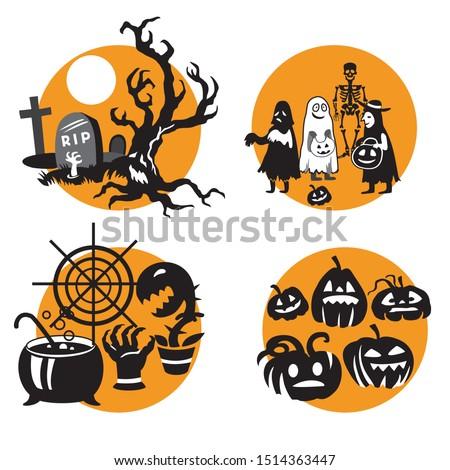 Halloween Clipart SVG Baby Halloween Costume Shirt Design | Etsy
