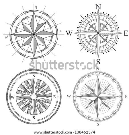 vector set illustration of