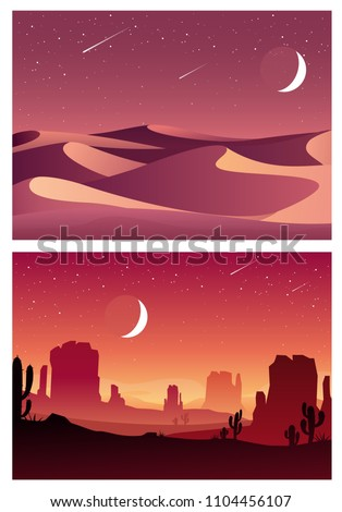 vector set illustration of