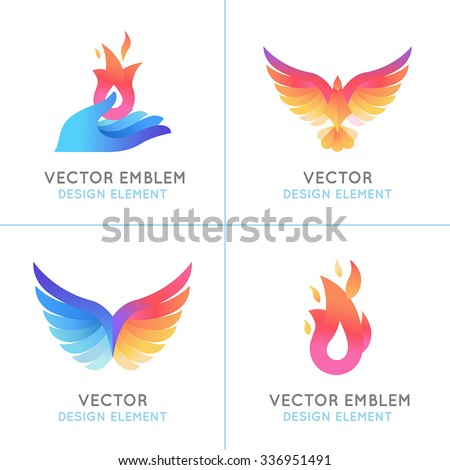 vector set of abstract concepts
