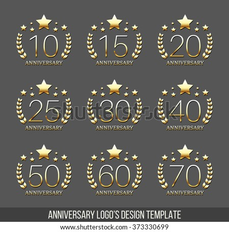 Anniversary Symbol Vectors Download Free Vector Art Stock