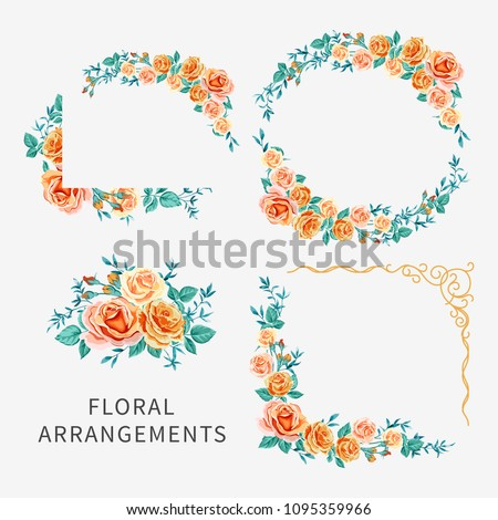 vector set of arrangements with