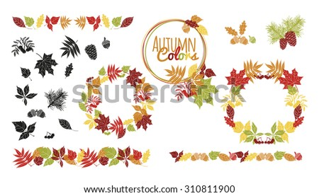 Fall Frame - Download Free Vector Art, Stock Graphics & Images