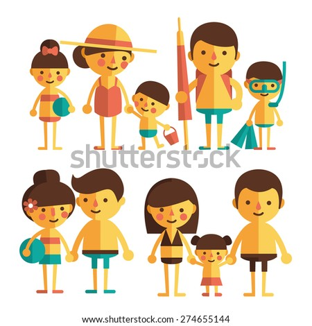 vector set of characters in a