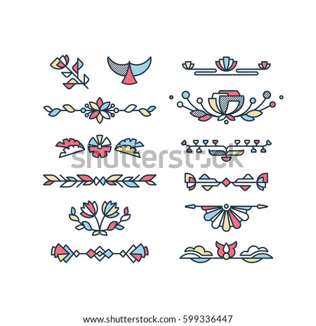 Free Vector Image Of Decorative Design Elements Download Free Inspiration Decorative Design Elements