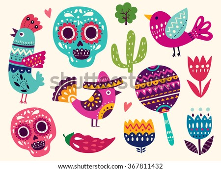Cartoon Aztec Symbol Vector Download Free Vector Art Stock