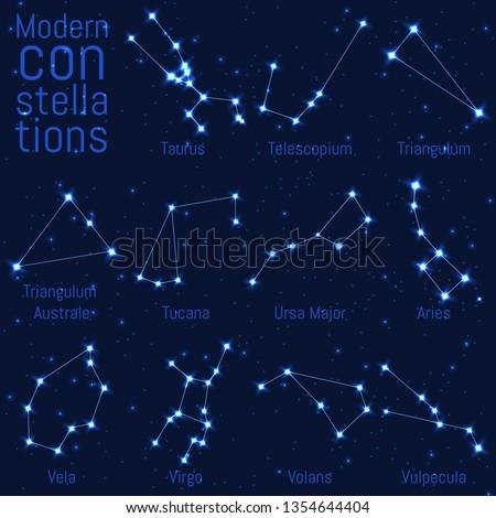 vector set of constellations