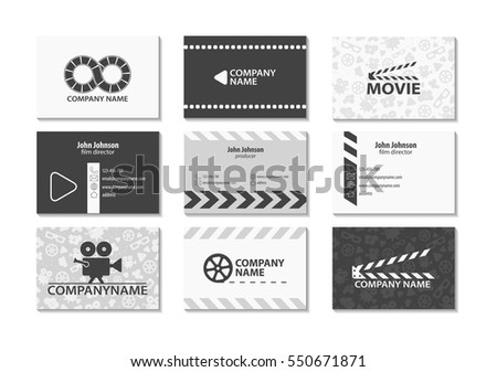 vector set of creative business