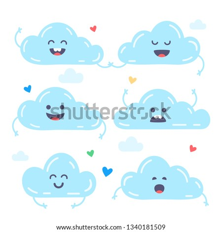 Seamless background with Clouds… Stock Photo 742886245