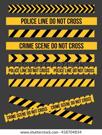Police Line Do Not Cross Free Vector Art - (27 Free Downloads)