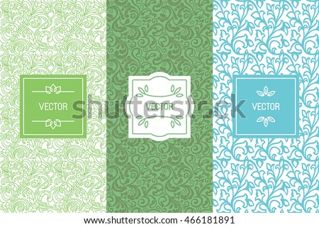 Free Tea Labels Vector Set - Download Free Vector Art, Stock ...