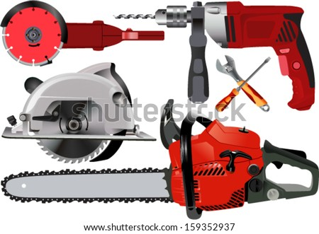 clip art hand tools vector power tools download free vector art stock graphics images