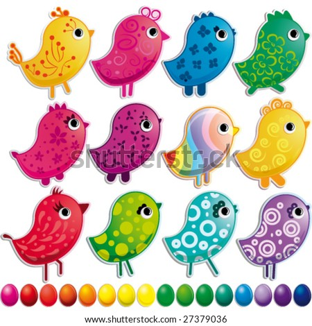 Easter Clip Art Bird