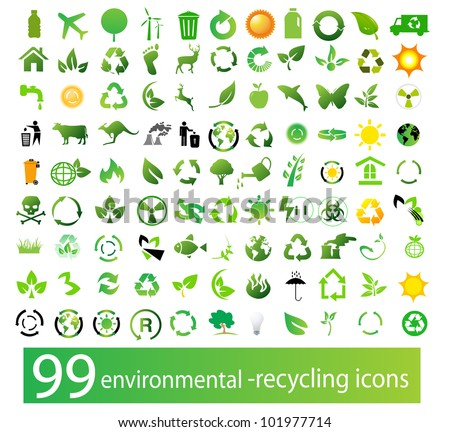 vector set of environmental