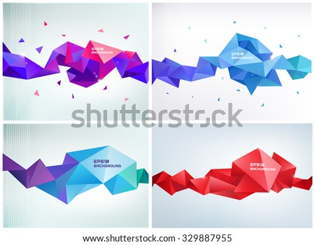 stock-vector-vector-set-of-faceted-d-crystal-colorful-shapes-banners-faceted-d-shapes-crystal-banners