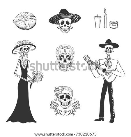 vector set of graphics