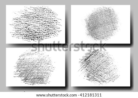 Vector set of grunge textures. Hatching with a pencil. Grunge Texture.Grunge Background.Grunge Effect.Grunge Overlay.Grunge Texture.Grunge Vector.Grunge Texture.Grunge Black.Grunge Texture. #412181311
