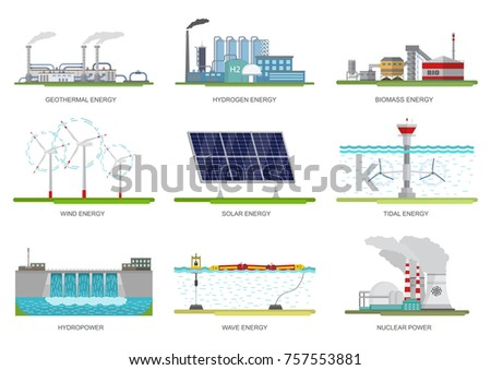 vector set of illustrations