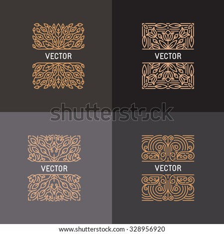 vector set of linear frames and