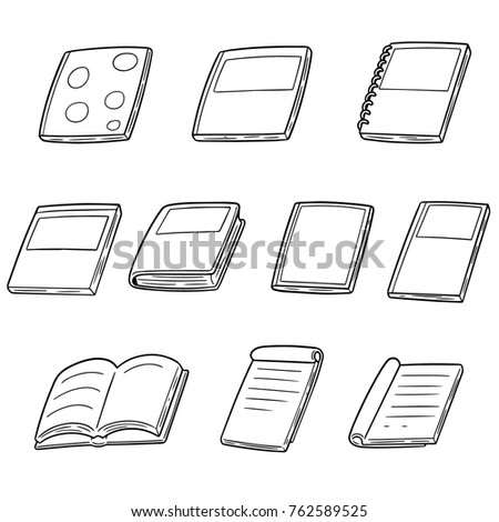 vector set of notebooks