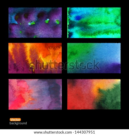 stock-vector-vector-set-of-six-watercolor-abstract-hand-drawn-background-vector-illustration-stain-watercolors