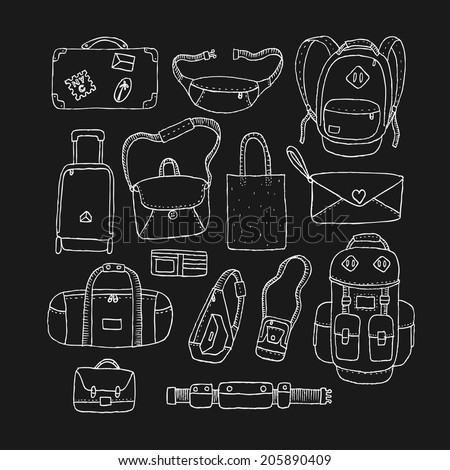 Vector Set of Sketch Bags Isolated