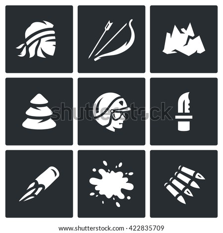 vector set of survival in the