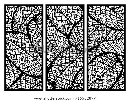 vector set of templates of