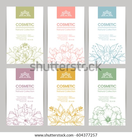 vector set of templates