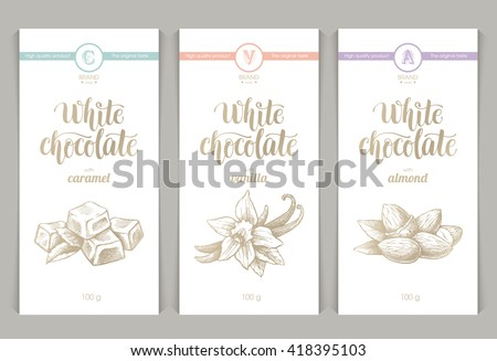 chocolate label vector templates download free vector art stock