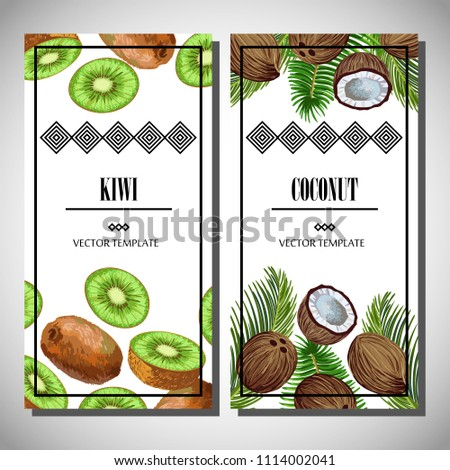 vector set of two vertical