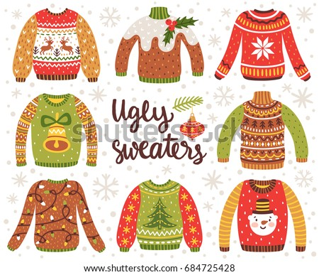 Ugly Christmas Sweater Clipart.Ugly Christmas Sweater Free Vector Art 24 Free Downloads