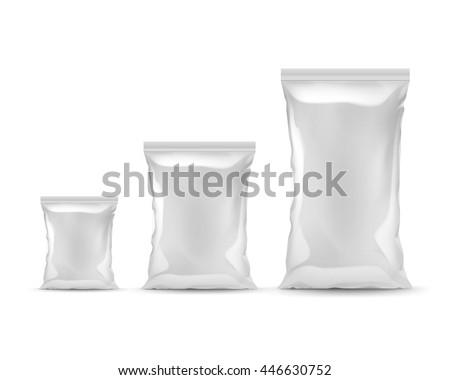 vector set of vertical sealed