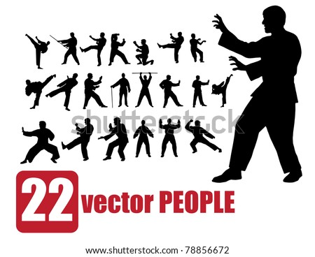 vector set of 22 very detailed