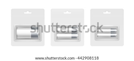 vector set of white gray silver