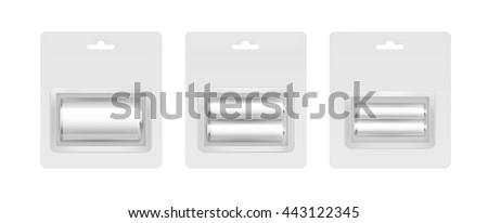 vector set of white gray silver