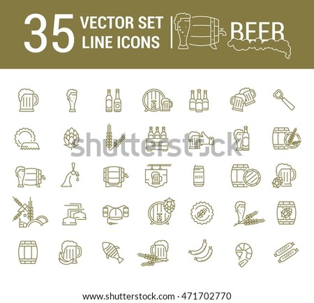 vector set on the subject of