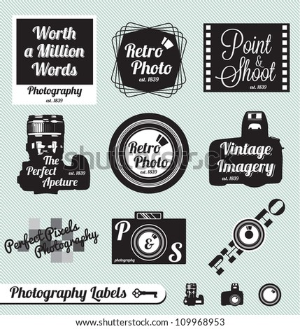 vector set  photography and