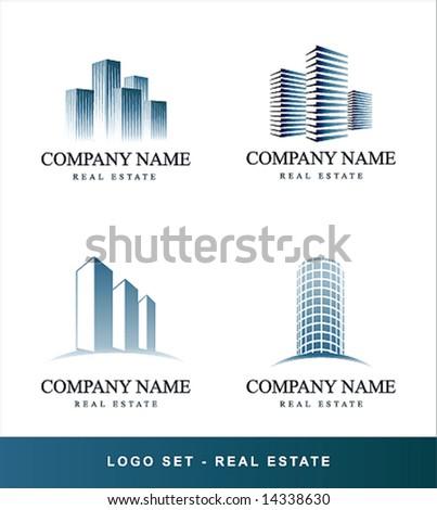 Vector set Real Estate concept
