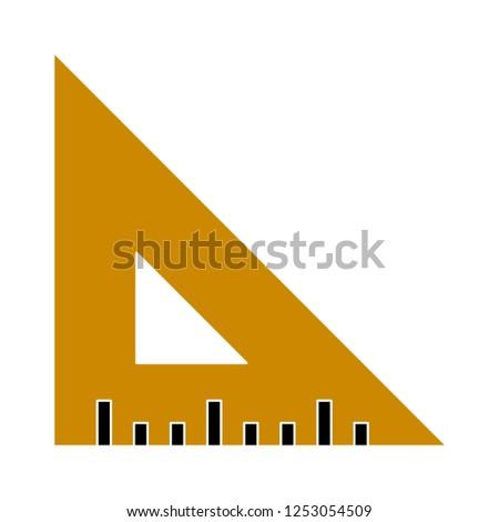 vector set-square icon