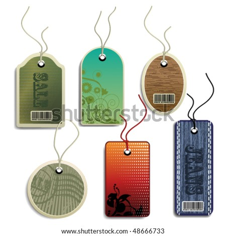 Vector set tags