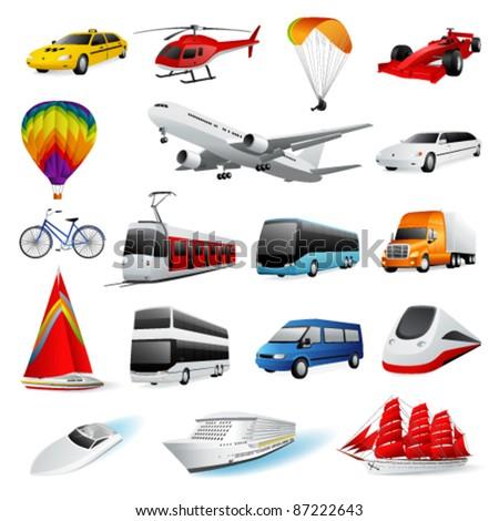Vector set: transport