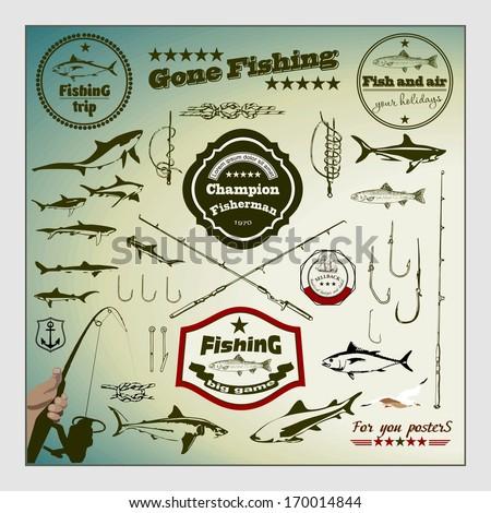 лейбл рыбака