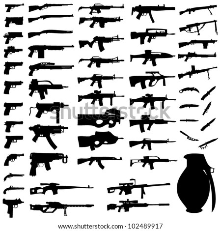 Different Types of Guns Names Different Types of Guns Names