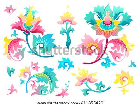 free vector watercolor flowers pattern download free vector art