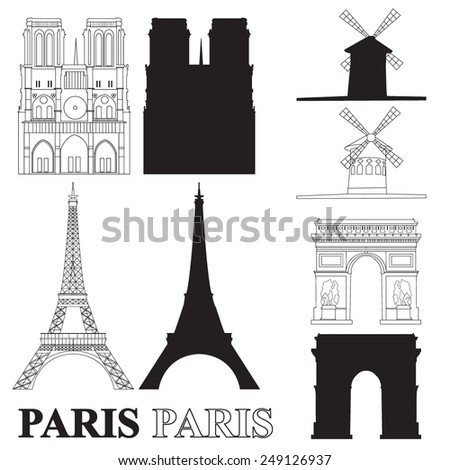 vector set with landmarks of