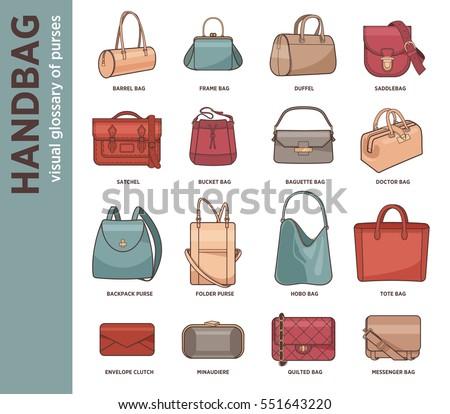 6383466467 Free Female Handbag Set - Download Free Vector Art