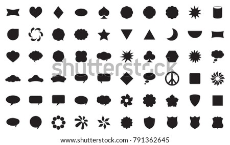 VECTOR SHAPES SET