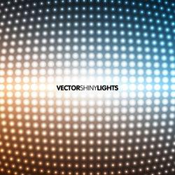 Vector shiny lights. EPS10 illustration