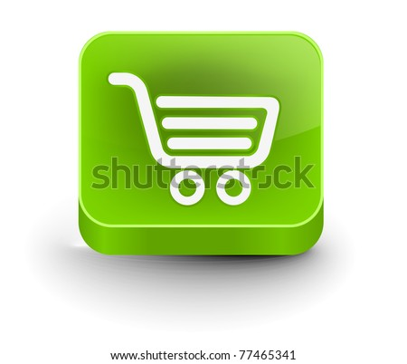 vector shopping web icon design element.